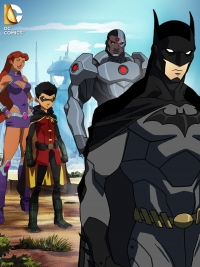 Primer avance para Justice League vs Teen Titans